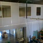 Mezzanine tertiaire pour agencement de bureaux à Lyon